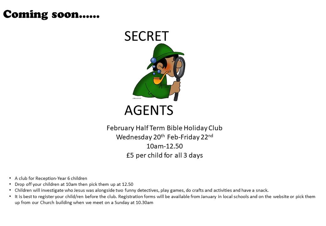Secret agents Info